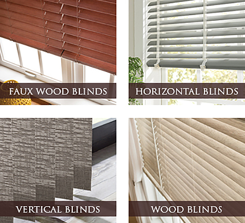 Faux Wood Blinds - Horizontal Blinds - Vertical Blinds - Wood Blinds