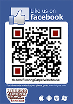 Join Flooring & Carpet Warehouse on Facebook today!