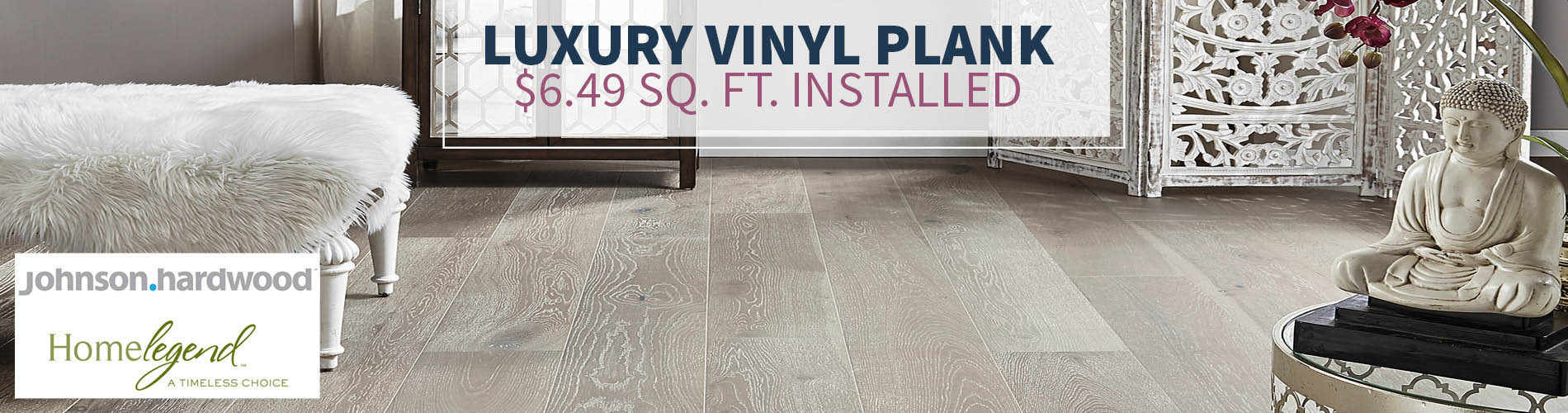 Luxury Vinyl Plank - $6.49 sq.ft. INSTALLED!