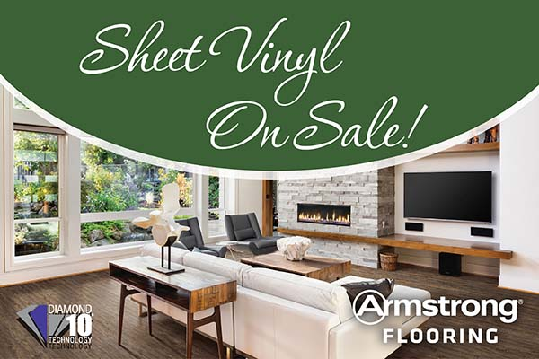 Armstrong Flooring Duality with Diamond 10™ Sheet Vinyl on sale!