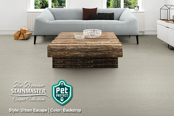 The Premier Stainmaster Pet Protect Carpet Collection | Style: Urban Escape | Color: Backdrop